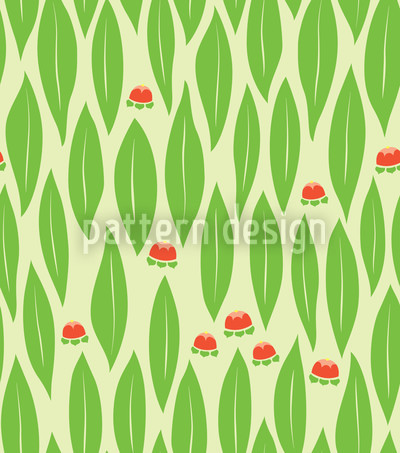 Auszeit In Grün Designmuster