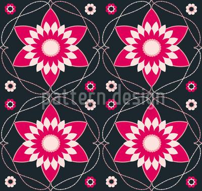 Byzantina Dark Repeat Pattern