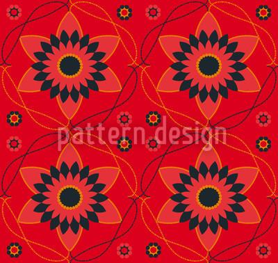 Flowers Of Byzanz Pattern Design