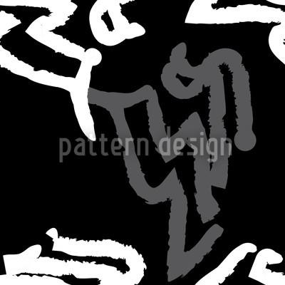 Art Origine Nahtloses Vektor Muster