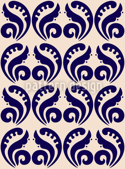 Expressiv Blau Vektor Design