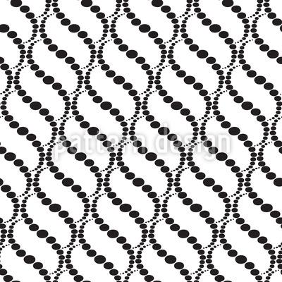 Wellige Punkte Auf Weiss Vektor Design