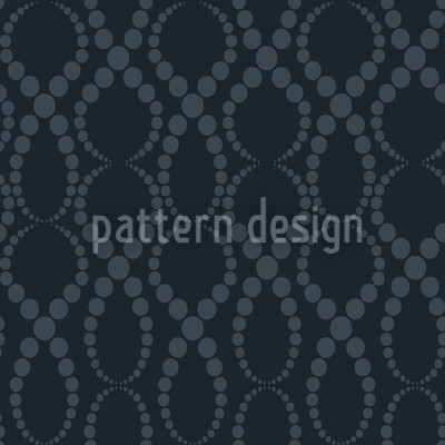 Black Pearls Repeating Pattern