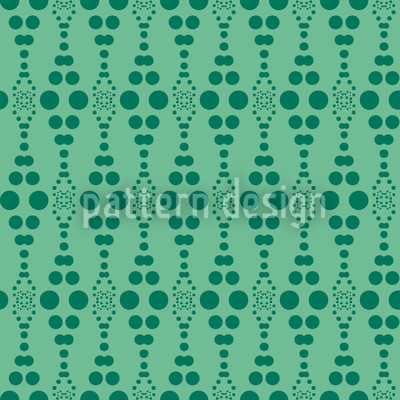 Dottore Green Repeating Pattern