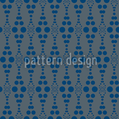 Dottore Blue Repeat Pattern