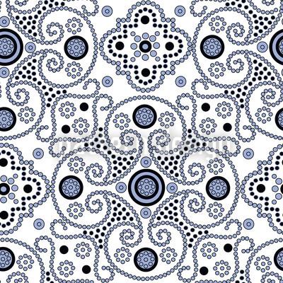 Medaillon Vektor Muster