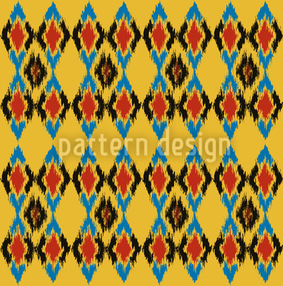 Tribal Dance Day Pattern Design