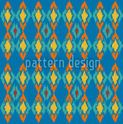 Tribal Dance Water Design Pattern