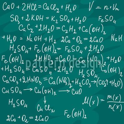 Chemie Unterricht Vektor Muster