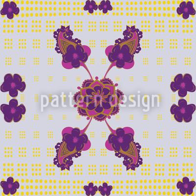 Fantastic Purple Vector Ornament