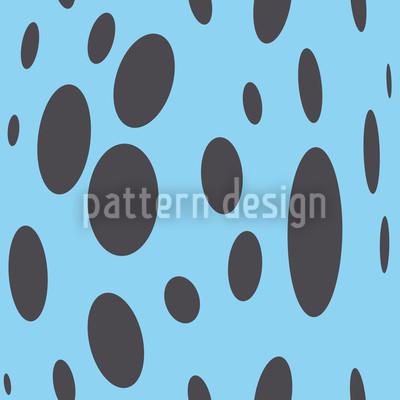 Abstraktes Design mit Blasen Rapportiertes Design