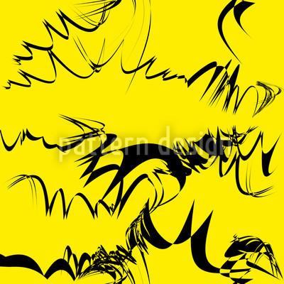 Kalligrafie Auf Gelb Rapport