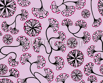 Boheme Hanoi Romanze Vektor Muster