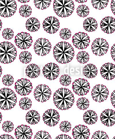 Magic Spores Repeat Pattern