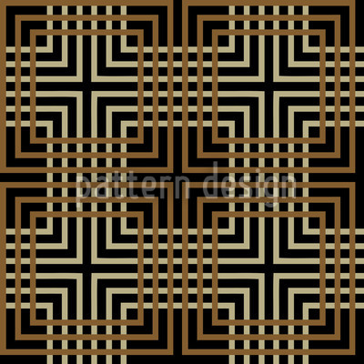 Labyrinth Vector Ornament