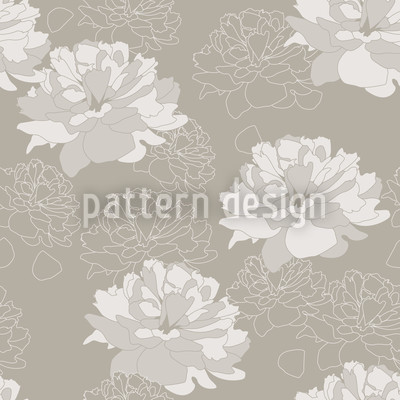 Come Rosy Come Seamless Vector Pattern