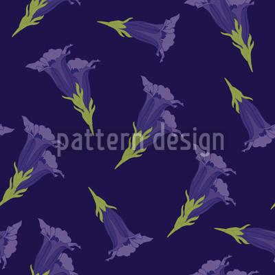 Enzian Blau Vektor Design