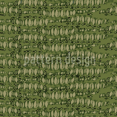 Reptilio Green Repeat Pattern