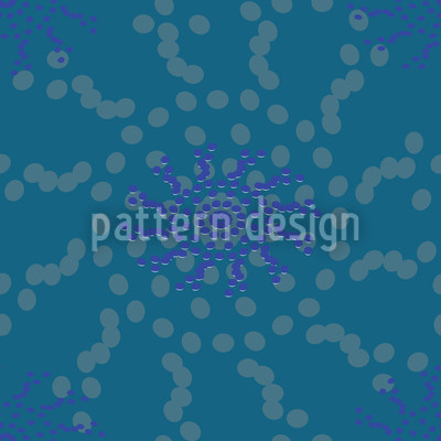 Dotted Flowers Design Pattern
