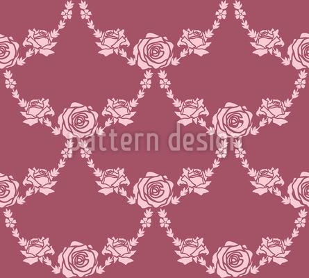 Englische Rosen Designmuster