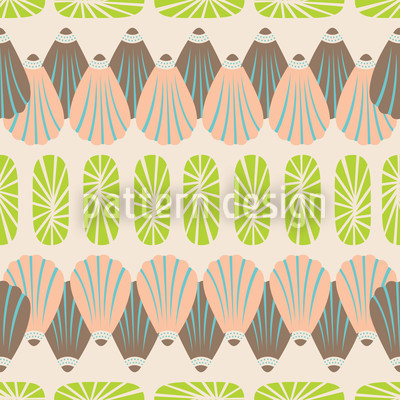 Shell Decor Pattern Design