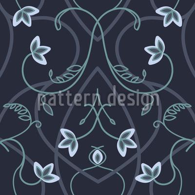 Gothic Flower Fantasy Design Pattern