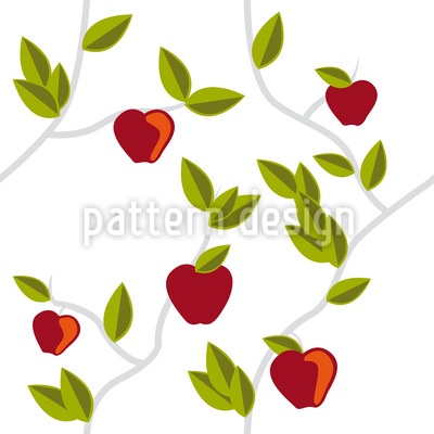 The Garden Of Eden Vector Pattern