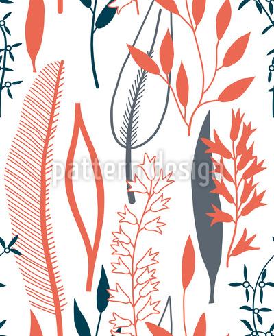 Blätter Silhouetten Vektor Design