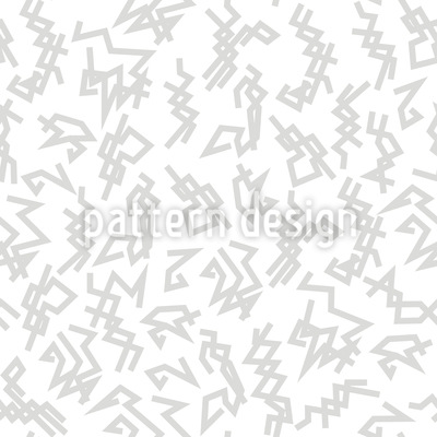 Trigger White Repeating Pattern