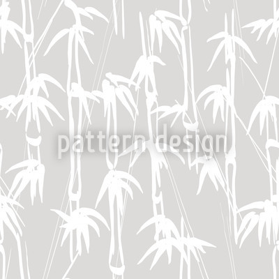 Ink Bamboo Repeat Pattern