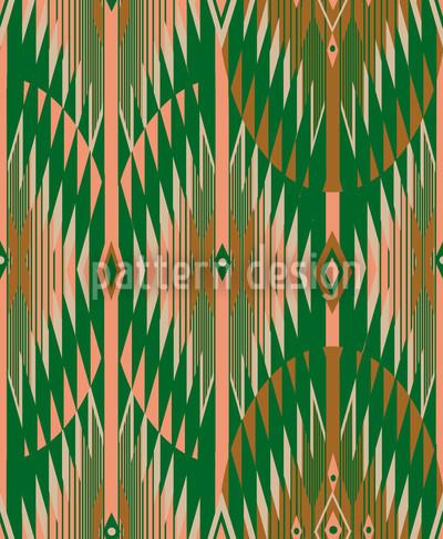 Ethno Zig Zag Repeat Pattern
