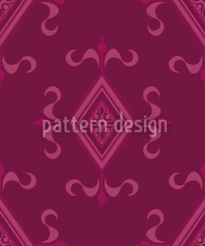 Gotik Magenta Nahtloses Muster