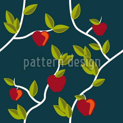 Garden Of Eden Night Pattern Design