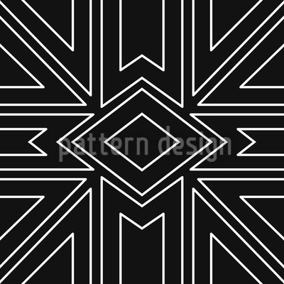 Nightflight Seamless Vector Pattern