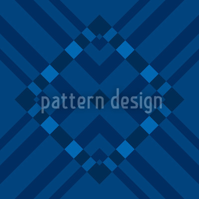Blue Monday Vector Pattern