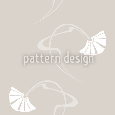 Burlesque Beige Pattern Design