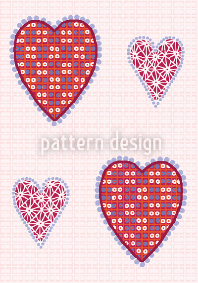 Heart Pictures Design Pattern