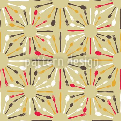 Besteck Vektor Muster