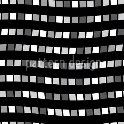 City Whisper In Black Repeat Pattern