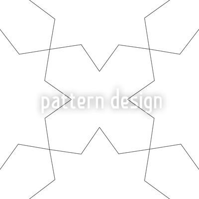 Oblivion White Vector Pattern
