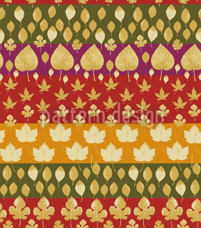 Leafstripes Repeating Pattern