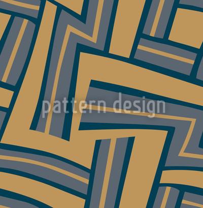 Maze Camel Vector Ornament