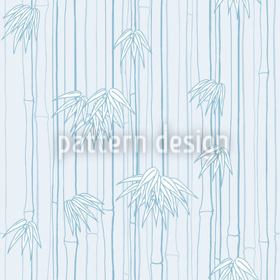 Bamboolino Blau Designmuster
