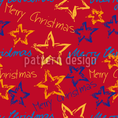 Merry Christmas Repeat Pattern