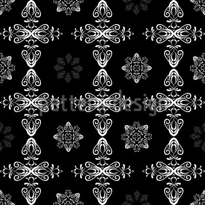 Renaissance Kristall Muster Design