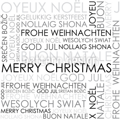 Christmas Wishes Vector Design