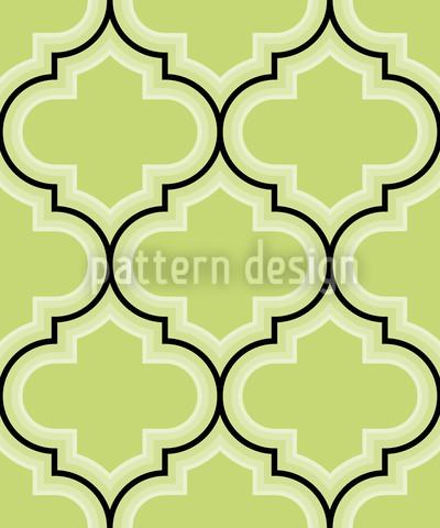 Retro Marokko Grün Rapport