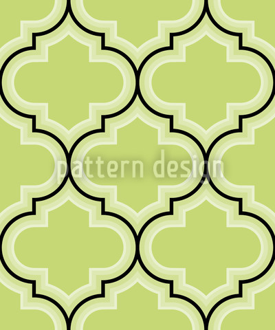 Retro Morocco Green Repeat
