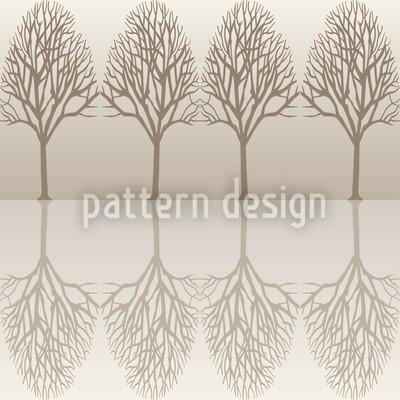 Baumallee Braun Vektor Design