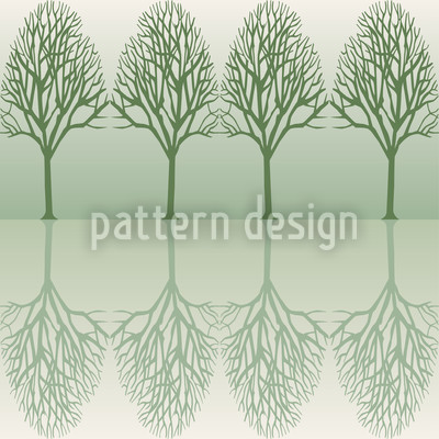 Alley Green Repeating Pattern